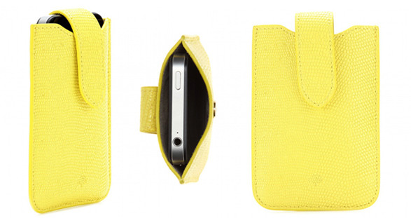 Die exklusive iPhone-Hülle von Mulberry ist eine stilvolle Aufmerksamkeit für Ihr zauberhaftes Escort Model.