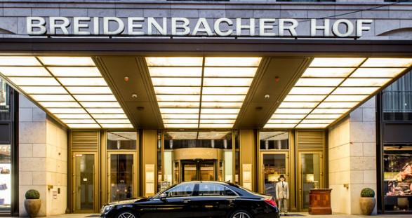Das Luxushotel Breidenbacher Hof und VIP Escortservice in Düsseldorf