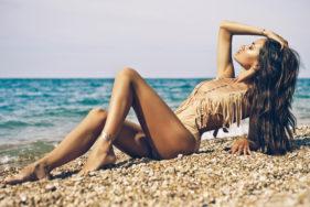 Liebesspiele am Strand mit VIP Escort