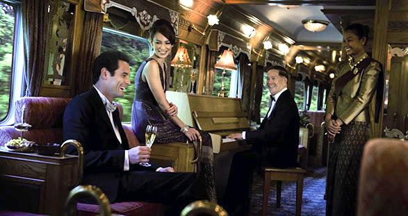 Luxus-Zugreise Asien mit Elite Escortservice
