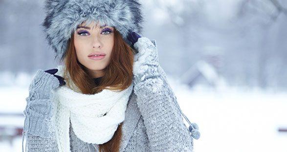 Escort Lady im Schnee