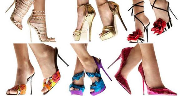Mit den stylishen High Heels des Stardesigner Jimmy Choo machen Sie Ihrem eleganten Escort Model eine echte Freude.