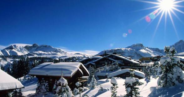 Die drei Komponenten eines Luxus-Winterurlaubs: Courchevel, unser VIP Escortservice und Hotel Manali.