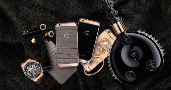 VIP Escort Model & Gold Concept iPhones