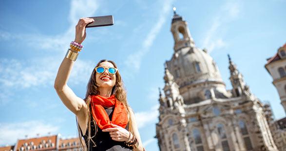 Selfie Escort Girl in Dresden